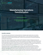 Manufacturing Operations Transformation