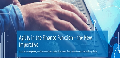 Agility in the Finance Function-the New Imperative