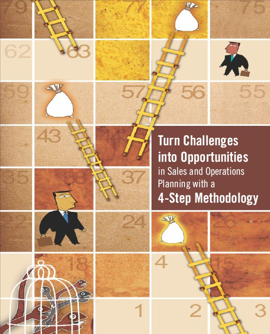 Turn Challenges into Opportunities in Sales and Operations - Planning with a 4-Step Methodology